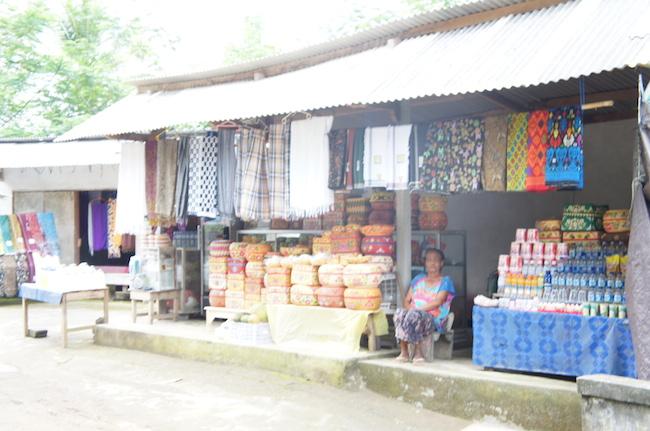 バリ島のお土産屋